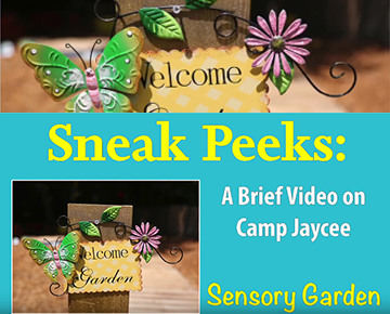 Sensory Garden at Camp Jaycee
