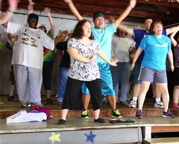Dance at Camp Jaycee